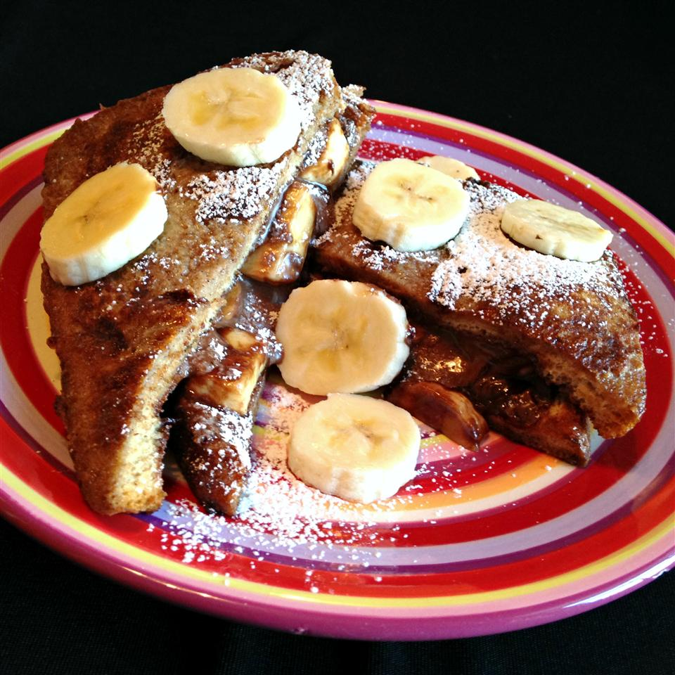 Nutella Banana Toast
